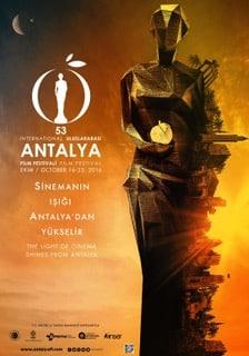 antalya 53. film festivali afiş